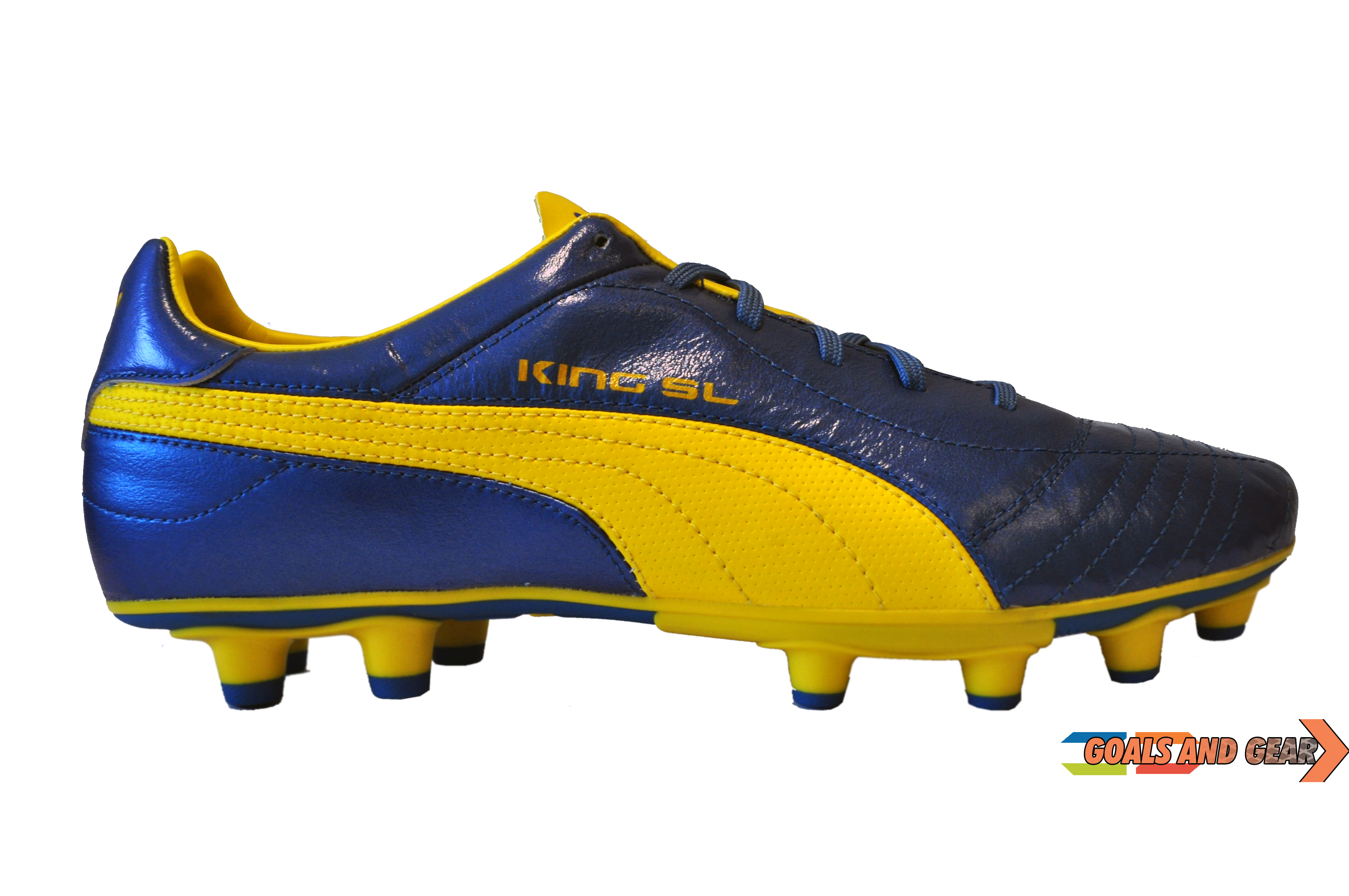 puma king sl yellow
