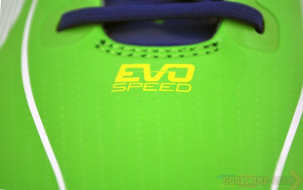 puma evospeed logo green rainbow