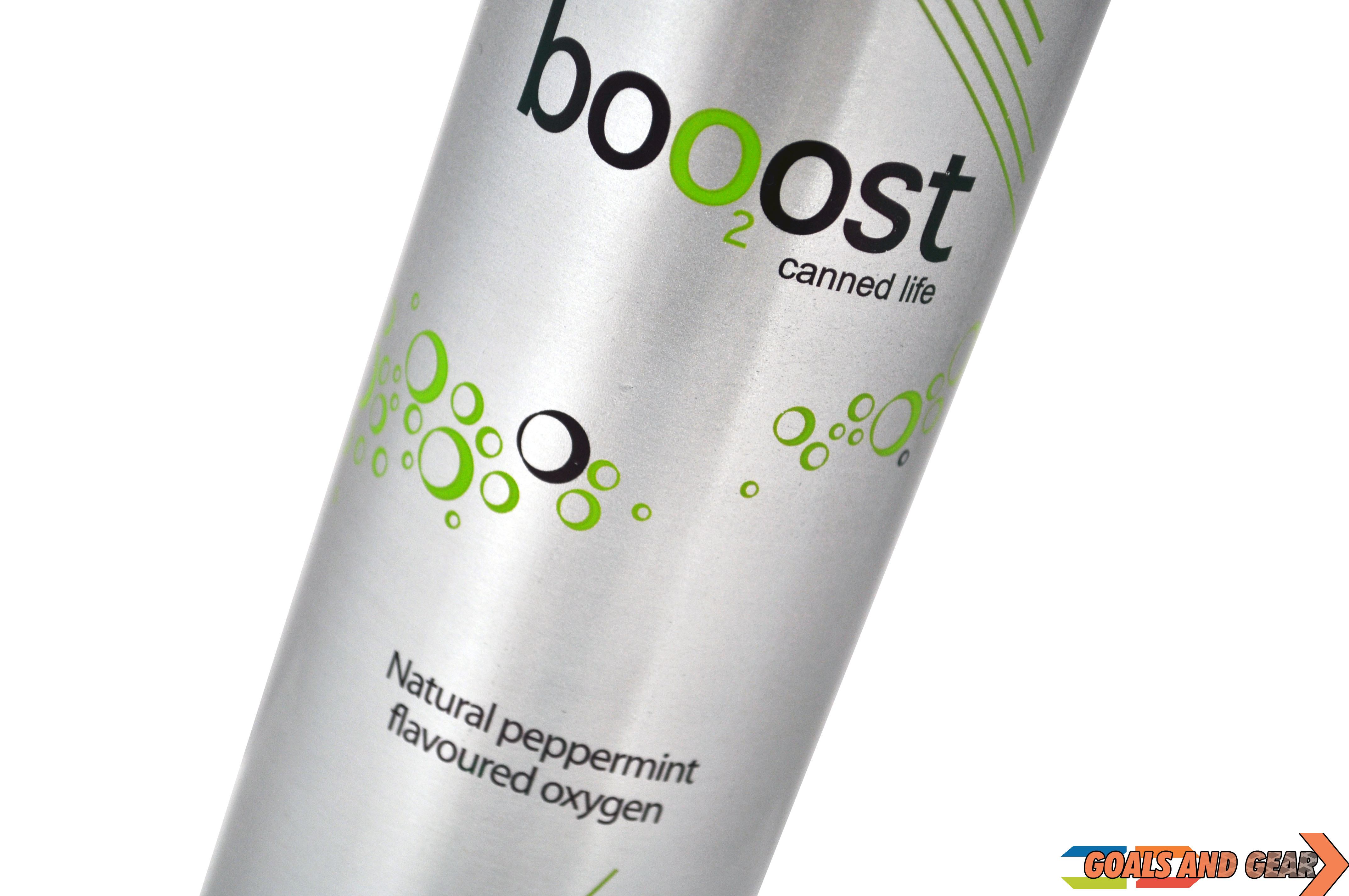 booost oxygen can tilted
