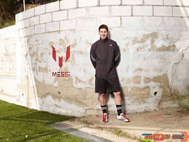 Leo Messi Adidas signature f50 adizero boot