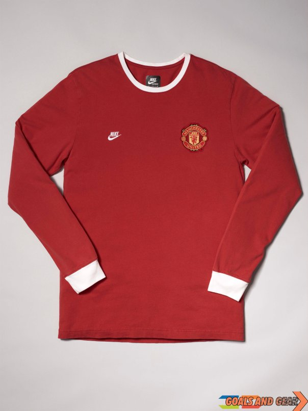 NIKE INT 106593 manchester united collection retro jersey