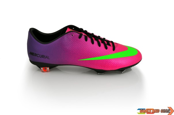 nike mercurial vapor 9 fireberry side view