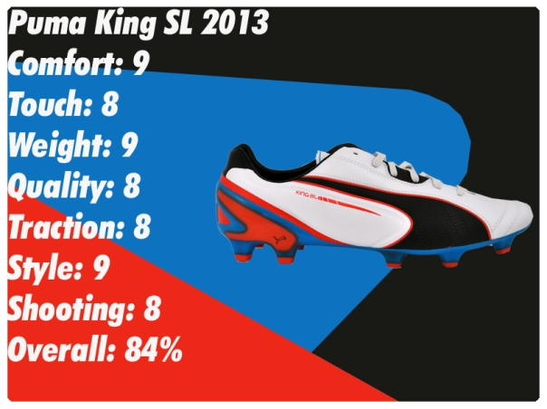 puma king 2013 sl score sheet